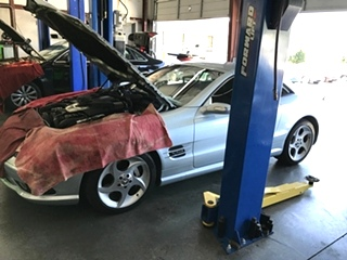 Mercedes Benz SL 600 Repair Knoxville Tn